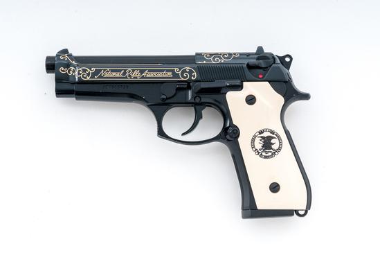 Limited Edition Beretta Model 96 NRA Commemorative Semi-Auto Pistol
