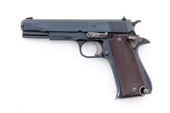 Star Model B Semi-Auto Pistol