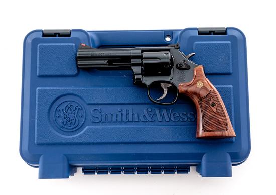 S&W 586-8 Classic Distinguished Combat Magnum Revolver
