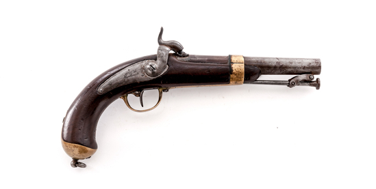 Antique French 1837 Chatellerault Naval Pistol