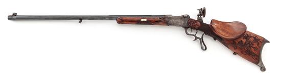 Pre-WWI German Schuetzen Rifle