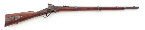 Sharps Model 1874 ''Straight Breech'' 3-Band Military Rifle