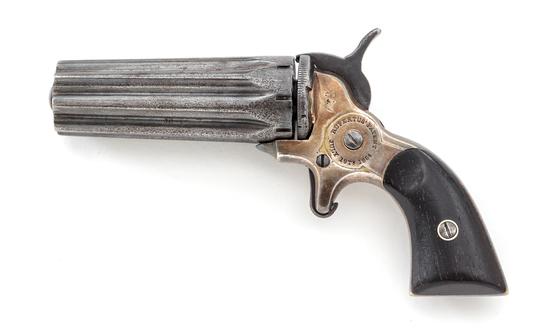 Antique Rupertus 8-Shot Pepperbox Pistol