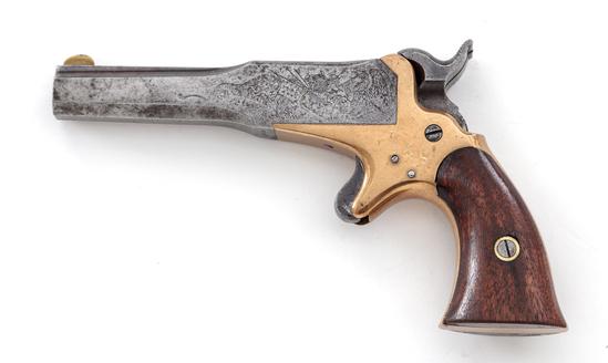 Antique Lindsay's ''Young America'' Perc. Pistol