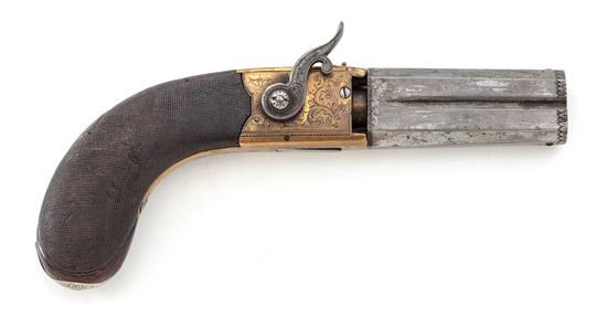 Smith Patent Revolving 2-Barrel Pocket Pistol