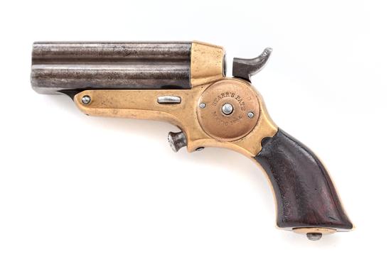 Antique Eben T. Starr 5th Model 4-Barrel Pepperbox