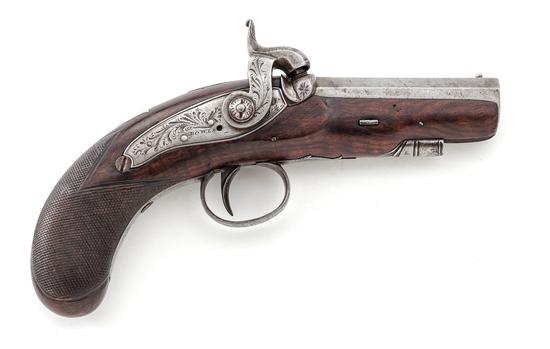 Rare Antique Irish Copy of a Henry Deringer Pistol
