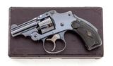 S&W .32 Safety Hammerless Revolver