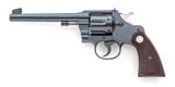 Pre-War Colt Officer's Model Double Action Revolvr