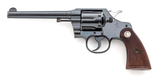 Pre-War Colt Official Police Double Action Revolver