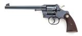 Pre-War Colt Officer's Target Model Revolver
