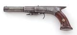 Antique Large-Bore Underhammer Perc. Pistol