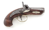 Antique Henry Deringer Percussion Pocket Pistol
