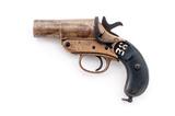 British Webley Mark III* Flare Pistol