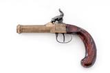 Antique European Boxlock Pocket Pistol