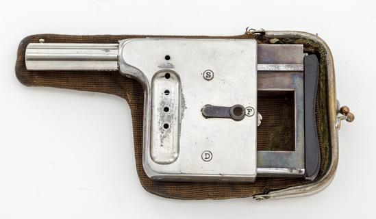 Antique French Gaulois No. 1 5-Shot Palm Pistol
