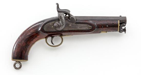 Antique British P-1849 Sea Service Perc. Pistol