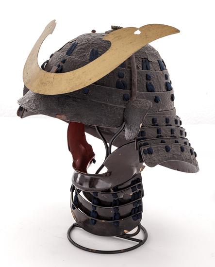 Antique Japanese Samurai Kabuto Helmet