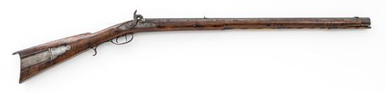 Antique American Fullstock Percussion Boy's Rifle