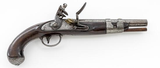 Model 1816 Flintlock Pistol, by Simeon North