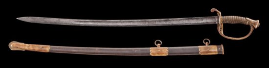 U.S. 1850 Staff & Field Officer's Sword