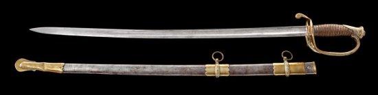 U.S. Model 1850 Presentation Officer's Sword