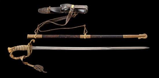 Model 1852 U.S. Naval Officer's Sword