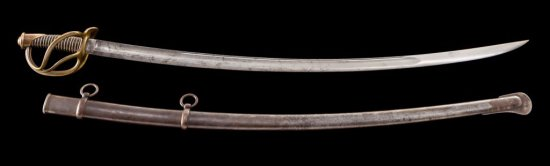 U.S. Model 1840 Enlisted Cavalry Saber, by Ames