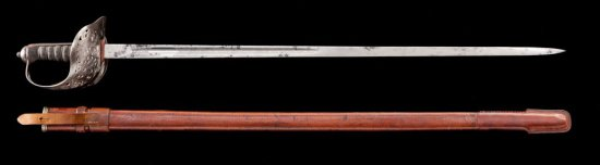 Early 20th-C. English Pattern 1897 Infantry Sword