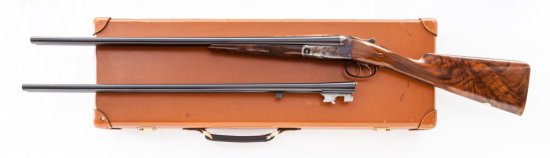 Winchester-Parker Repro. DHE Grade 2-Bbl SxS Shotgun