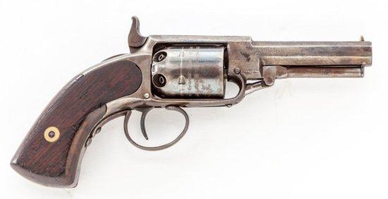 James Warner Center Hammer Perc. Pkt. Revolver