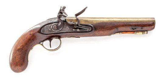 Brass Barreled FL Pistol, by Patrick