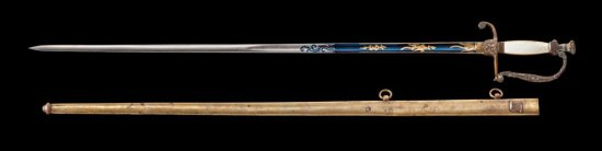 Model 1820 Infantry Officer's Sword, by Horstmann