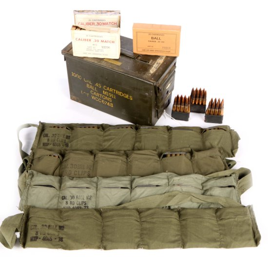 Ammo Box With 30-06 Ammunition