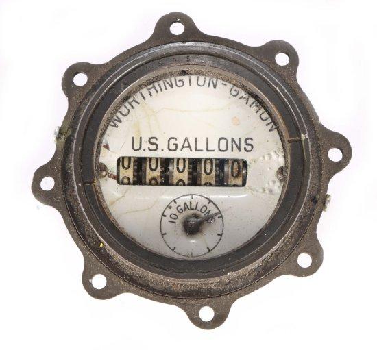 Worthington-Gamon Water Meter Gauge