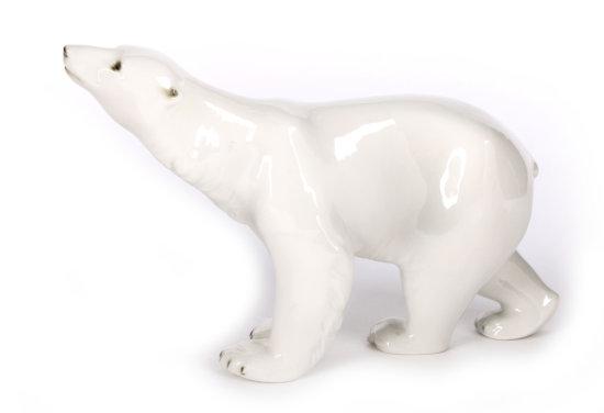 Royal Dux Polar Bear