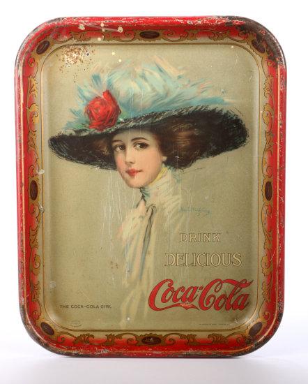Original 1910 Coca-Cola Serving Tray