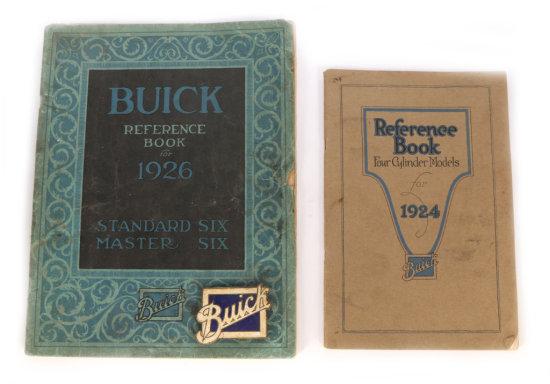 Buick 1924 & 1926 Reference Books & Emblem