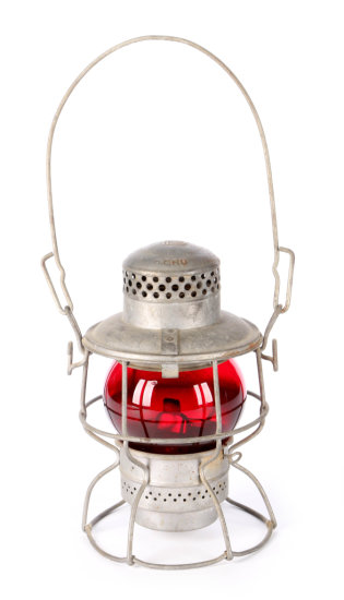 Penn Central Short Railroad Lantern by Adlake Kero