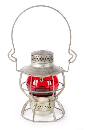 Gulf Mobile & Ohio Short Railroad Lantern by Dressel