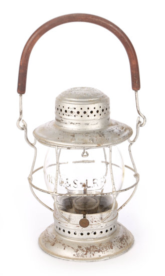 New York Central & St. Louis Railroad Conductor's Lamp by Dietz