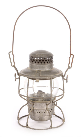 New York Central System Short Railroad Lantern by Adlake Kero