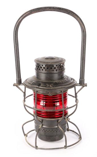 Nickel Plate Road Short Railroad Lantern by The Adams & Westlake Co.