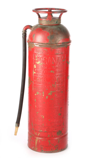 Baltimore & Ohio Railroad Co. Fire Extinguisher by Pyrene Mfg. Co.