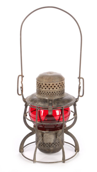 Pennsylvania Railroad Short Lantern by Armspear
