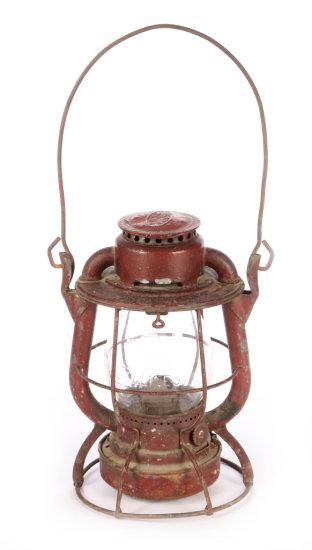 Cleveland, Cincinnati, Chicago & St. Louis Ry. Tall Globe Lantern by Dietz Vesta