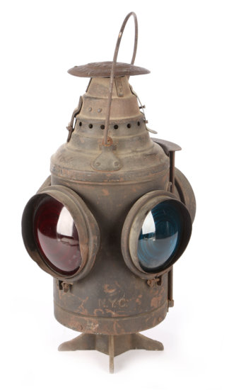 New York Central Switch Lamp by Dressel Railway & Signal Co.