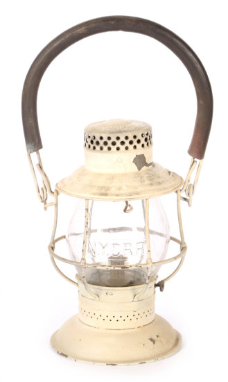 New York Central Railroad Conductor Lantern by The Adams & Westlake Co.