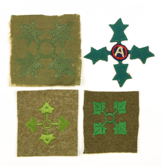 Military 4 Inf. Div. Patches (4)