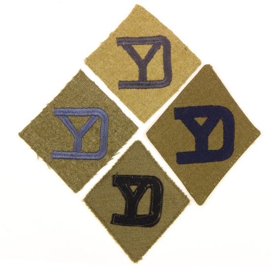WWI 26th Infantry Patches (4).
